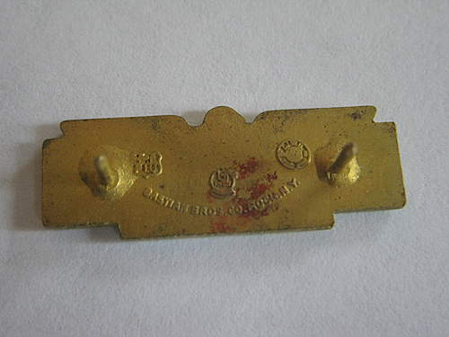 USO Camps Shows Pin