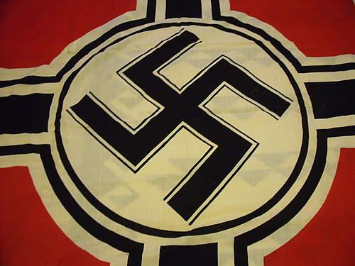 German Banner Flag.  Huge