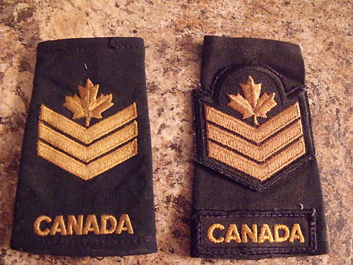 Post War Canadian Insignia