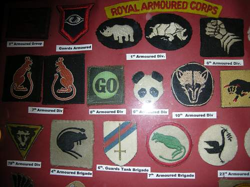 Click image for larger version.  Name:Armoured Div. Badges 002.jpg Views:812 Size:224.9 KB ID:398723