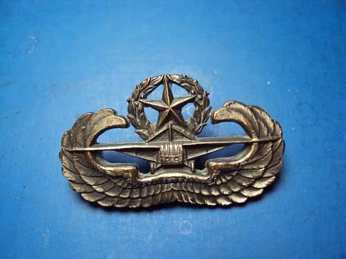 Ww2 u.s glider badge original ??
