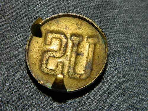 """Need help with unknown """"US"""" insignia"""