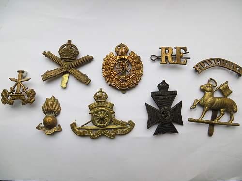 British cap badges