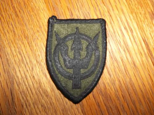 Identification needed on various patches and pins