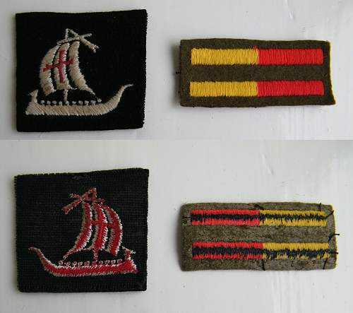 Various cloth patches