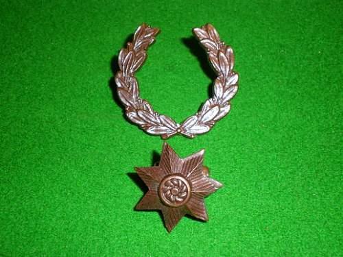 Early ATS Officers rank insignia