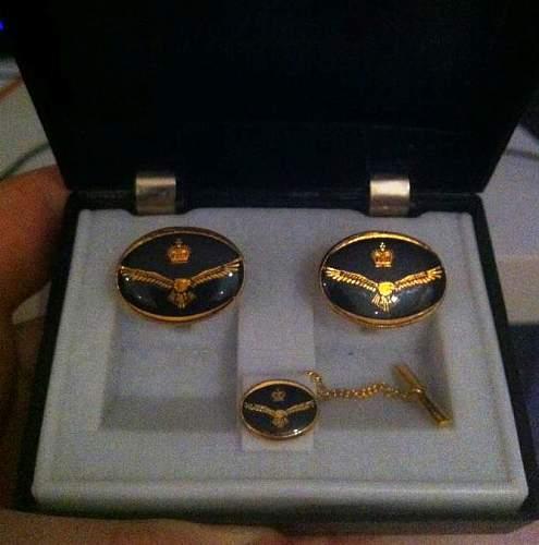 RAF Cuff-links
