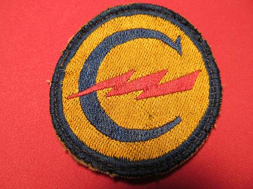 German made patch????