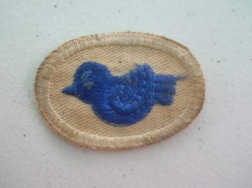 Blue Bird Patch