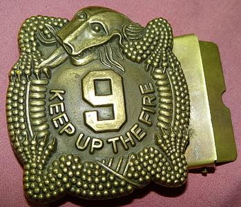 US 9th Infantry Regt Manchu Mile buckle