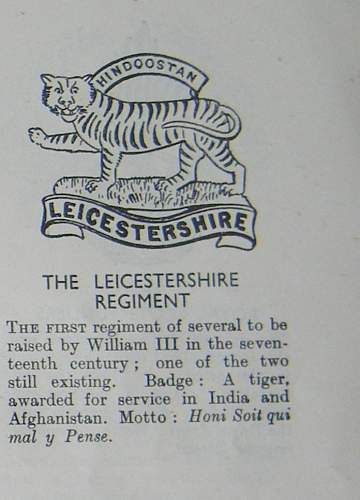 Click image for larger version.  Name:leicester tigers WWII cap badge.jpg Views:198 Size:215.2 KB ID:452564