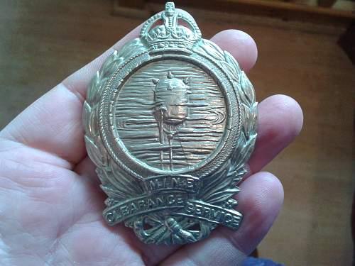 UK Military Badge
