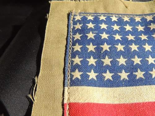 Mystery Small USA Flag