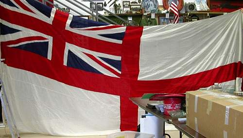 Possible WW2 British Naval Ensign, Flag