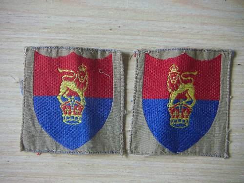 BCOF Sleeve insignia