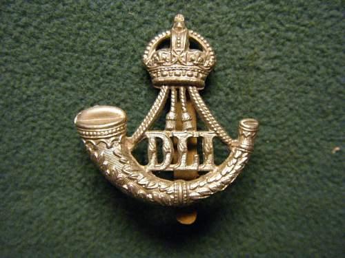 DLI Cap Badge