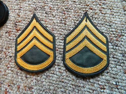 question about some rank patches are from