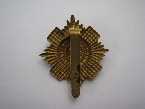 Scots Guards Badge