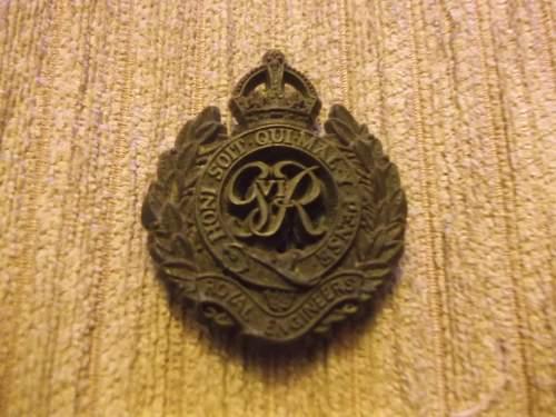 WW2 Economy Royal Engineers