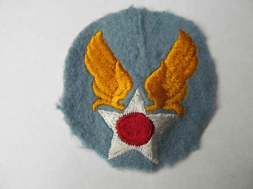 Info on this USAAF patch