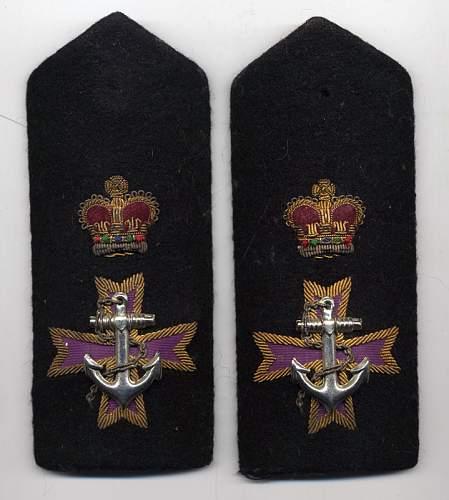 50's RCN Chaplain boards