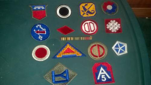 Help with identifying patches