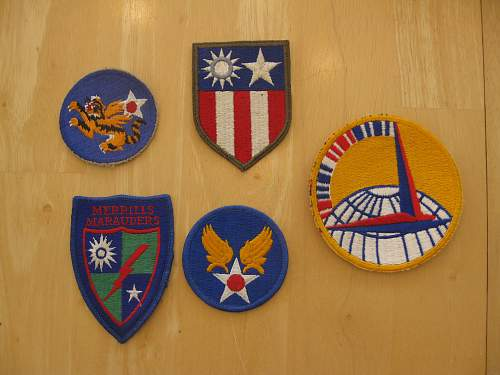 Merrills Marauders Patches