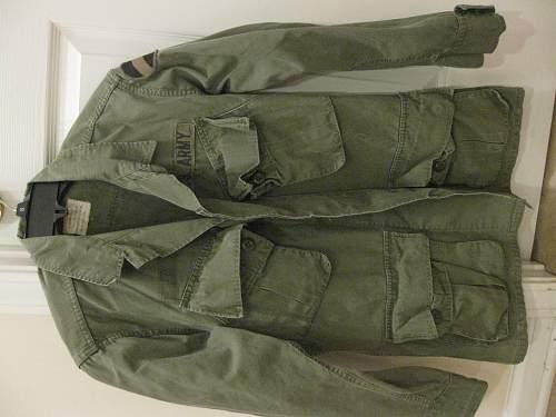 Patch on WW2 Tropical jacket