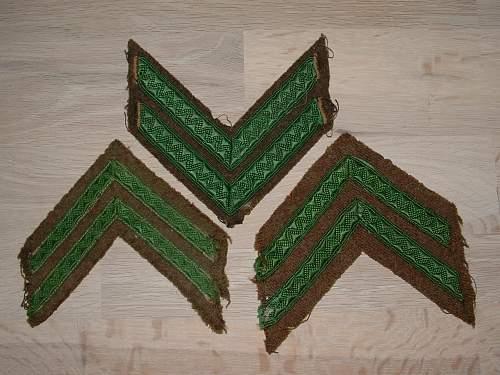 Green Chevrons