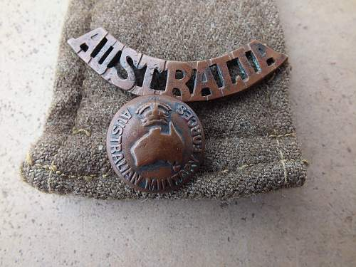 Post your WW2 Australian Insignia.