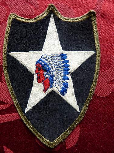 Indian head patch