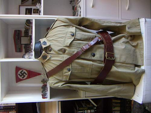 Click image for larger version.  Name:Early WW2 LH Armoured 1902 Pattern KH Militia Tunic WO1 1.jpg Views:68 Size:225.8 KB ID:509432