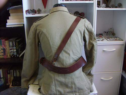 Click image for larger version.  Name:Early WW2 LH Armoured 1902 Pattern KH Militia Tunic WO1 2.jpg Views:152 Size:211.3 KB ID:509433