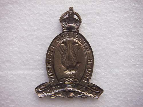 Click image for larger version.  Name:22nd South Gippsland Reg. Silver Hat badge 2.jpg Views:124 Size:231.4 KB ID:514810