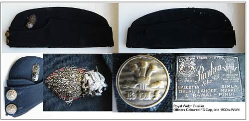 The Welch regiment cap badge