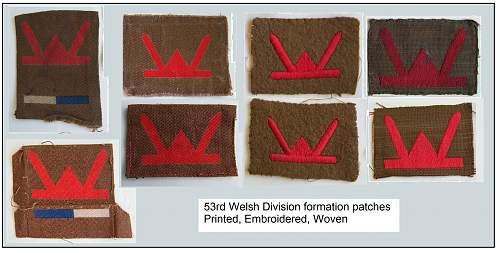 53rd Welsh Division formation flash