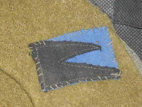 help w/these insignias on beret...