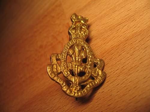 Indian/Pakistani Hat Badges Recent Pickups