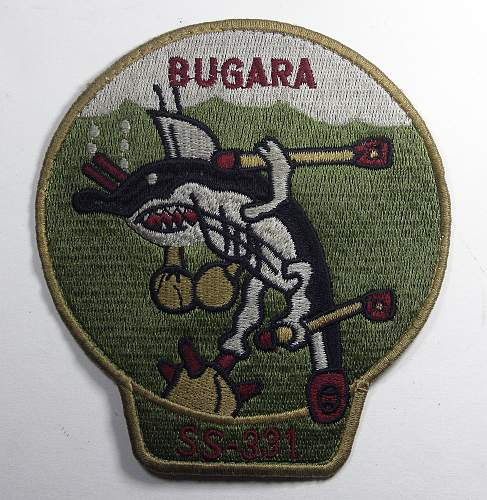 WWII Submarine Patches