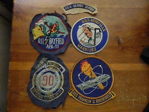 Navy Patches 50s-60s???