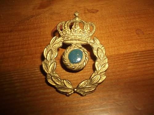 Info on Greek (?) Cap Badge