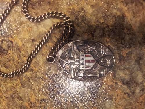 WW2 Catholic Coin