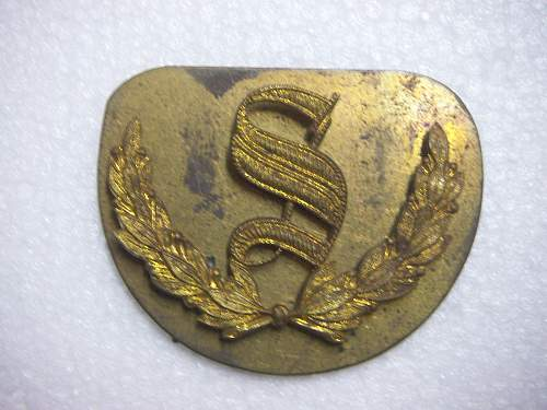 Click image for larger version.  Name:Qualification Badge Surveyors and Battery Surveyors Arendsen backing plate 1  1.jpg Views:171 Size:252.9 KB ID:545058