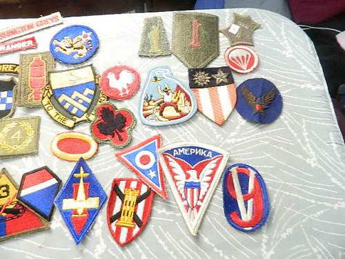 Patch haul from the local flea market