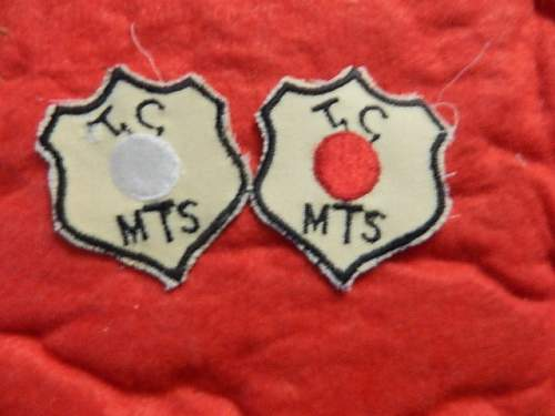 Red Ball Express Patch