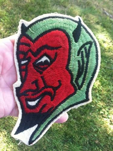 Red Devil Patch - Possible Squadron patch?