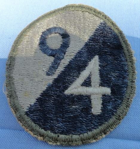 Dad's 94 Diviion patch
