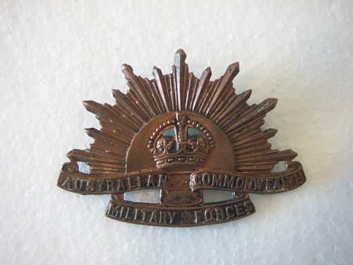 Click image for larger version.  Name:GS hat badge Sheridan Perth 1.jpg Views:70 Size:200.8 KB ID:566437