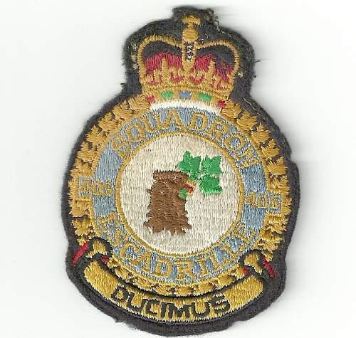 WW2 RAF Patch ???