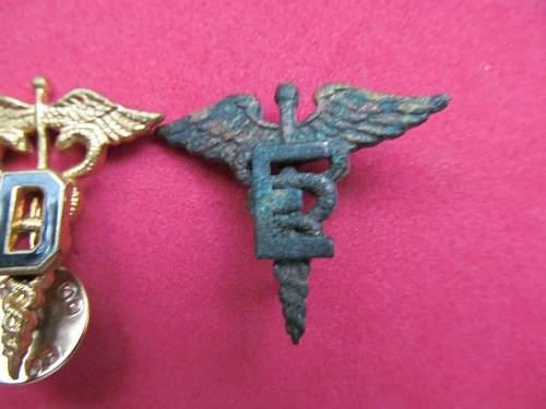 Need help us medical insignia